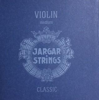 Jargar Geigensaiten Satz blau mittel 4/4 G Silber