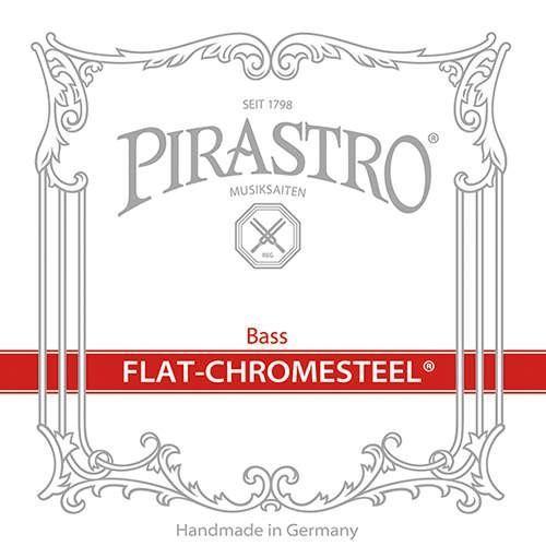Flat-Chromesteel Orchester D BassSaite 3/4