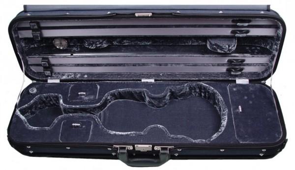 GEWA Violinkoffer Liuteria Maestro 4/4 Größe Blau/Anthrazit