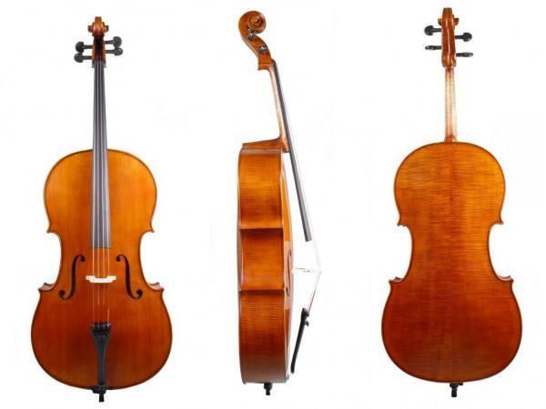 4/4 Cello Melodia - edles Cello mit Larsen und Spirocore Saiten
