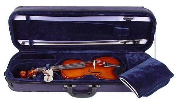 Geige Concierto im Set mit Carbonbogen in 4/4 Größe
