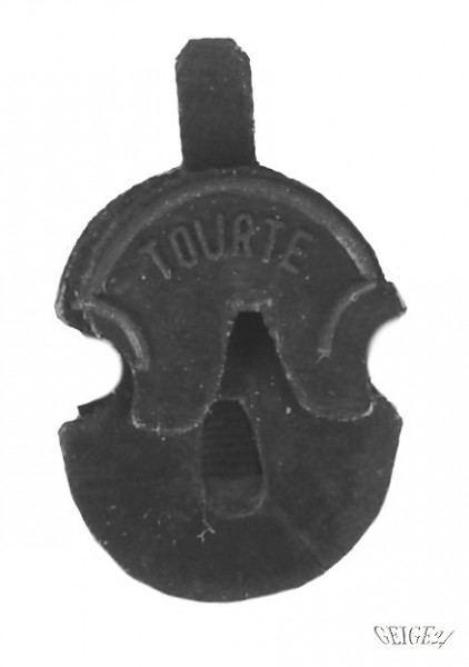 Dämpfer Tourte Violinform für Bratsche