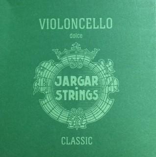 Jargar Cellosaiten Satz Dolce 4/4 Größe