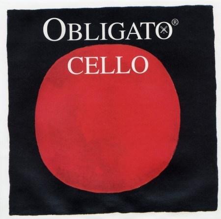 Pirastro Obligato A - Cellosaite Stahl/Chromstahl 4/4 Größe