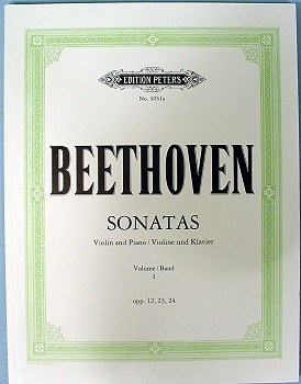 Beethoven: Sonaten Band 1 (opp. 12, 23, 24), EP 3031A