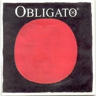 Pirastro Obligato Violinsaite G 3/4-1/2 Silber Mittel