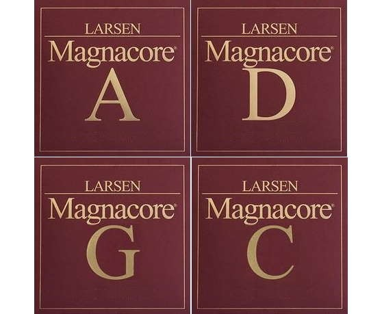 Larsen Magnacore Cellosaiten Satz 4/4 strong