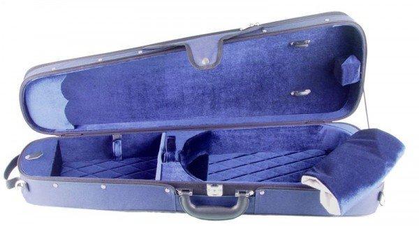 Bratschenkasten Amadeo Deluxe 38-39,5 Blau/Blau