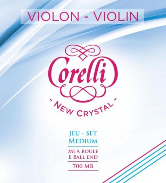 Corelli New Crystal Violin String Set 700MB 4/4 Größe