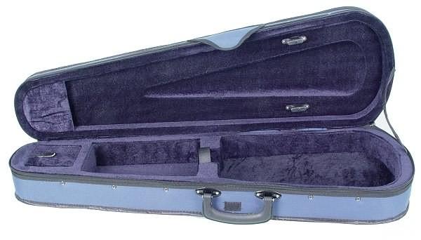 Geigenkasten Antonio in 1/4 Größe Blau/Blau
