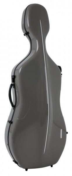 GEWA Air Cellokoffer 4/4 Größe Grau/Schwarz
