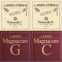Larsen Cello Satz A,D Soloist + G,C Magnacore
