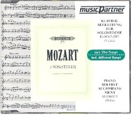 CD 2 Wiener Sonatinen nach: Divertimenti B-Dur KV Anh. 229 [439b] CD in 3 Tempi Mozart MP504555