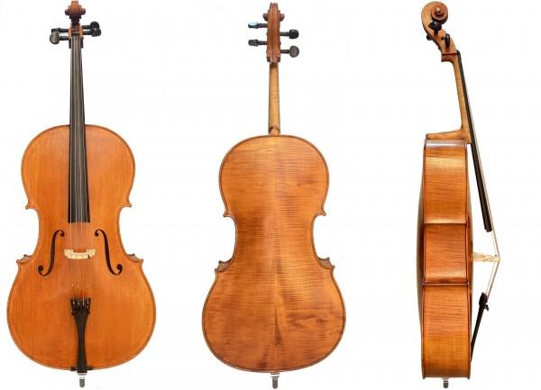 Cello Concierto im Set mit Tasche Bogen 1/2 Größe