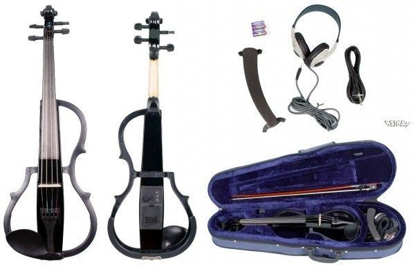 E-Geigenset GEWA Line mit E-Violine Schwarz