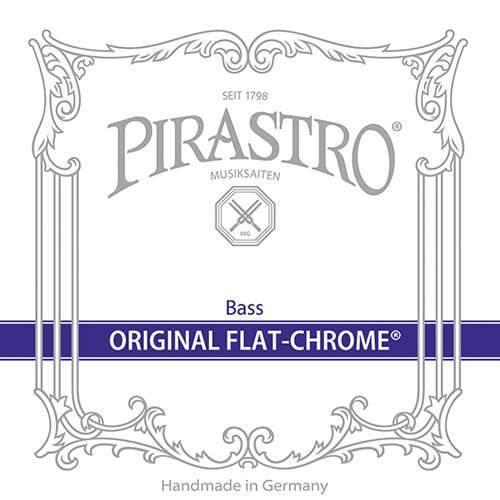 Original Flat Chrome Orchester Kontrabass Satz