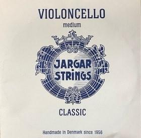Jargar Cellosaite A Stahl/Chromstahl 4/4 Größe