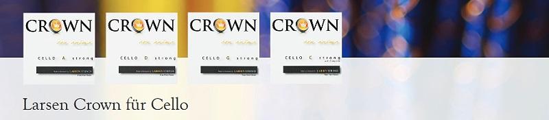 Crown-Cellosaiten-Larsen
