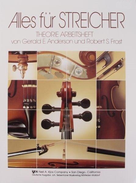 Alles für Streicher Theorie Arbeitsheft Cello Heft 1 84GCO