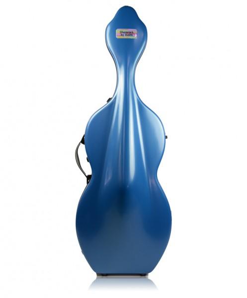 BAM Hightech Shamrock 1003XLB Cellokoffer 4/4 Größe, Farbe Blue-2