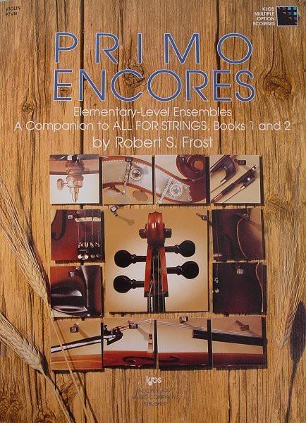 Alles für Streicher - Primo Encores für Cello