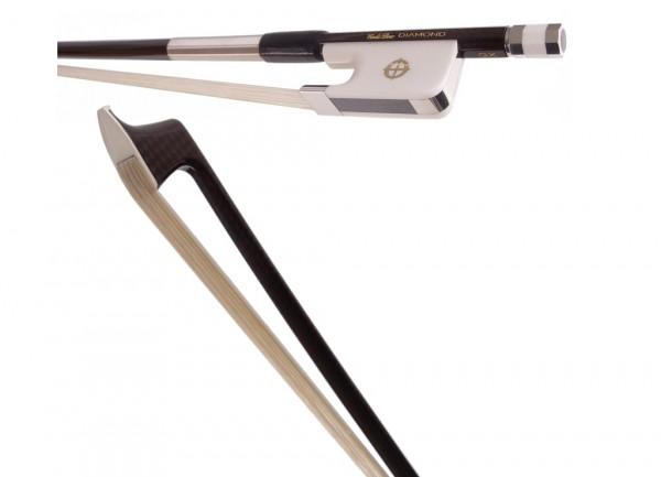 CodaBow Diamond GX für Viola mit Alabasterfrosch