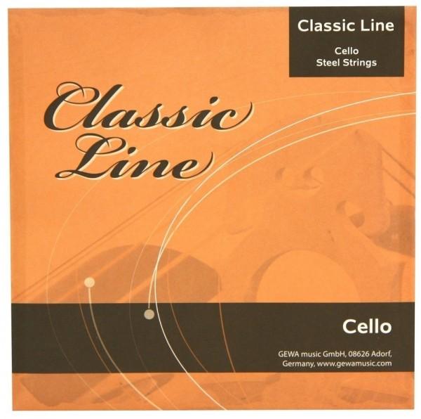 GEWApure 3/4 Cellosaiten Satz