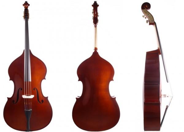 Kontrabass in Violinform 1/2 Größe