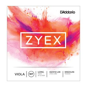 D Addario Zyex Violasaiten Satz Medium Long