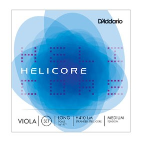 D Addario Helicore Viola Satz Long Scale H410L