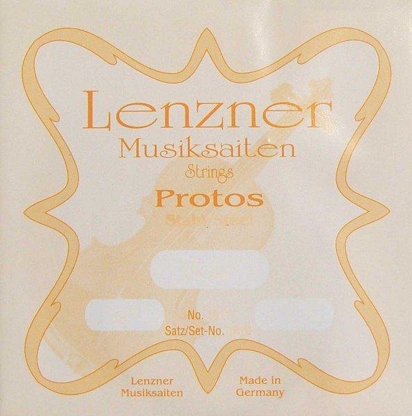 Lenzner Optima Protos Cellosaiten Satz 4/4 Stahlsaiten