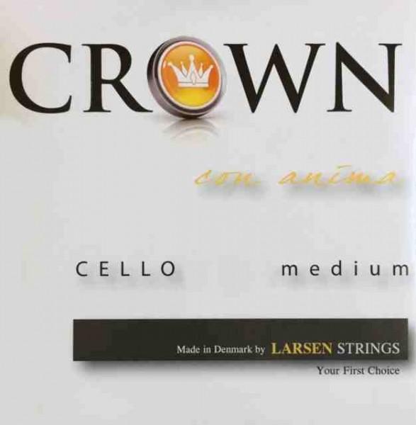 Larsen Crown Cellosaiten Satz 4/4 Medium