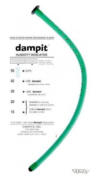 Dampit Luftbefeuchter für Violine Patentschlauch
