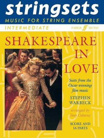 Noten Shakespeare in love for string ensemble Score and 16 parts Stephen Warbeck GN254412