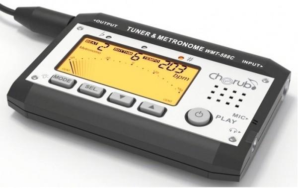 Cherub WMT-588C Stimmgerät Digital Metro-Tuner 3in1